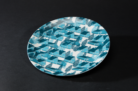 Greenland Blue Plate by B Goods