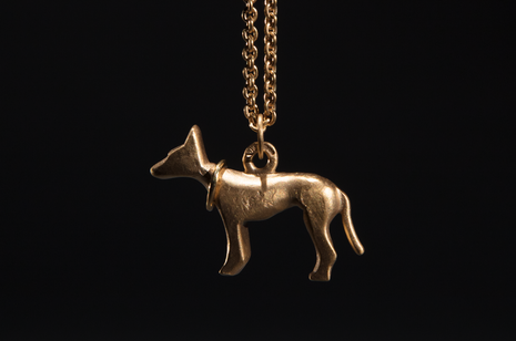 Rockmount Necklace - 22ct Gold Plated by Strange