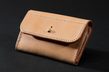 Purse - Natural by Ruth Pullan