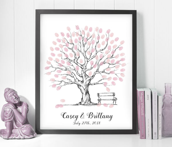 Wedding Tree Guest Book - Wedding Fusions