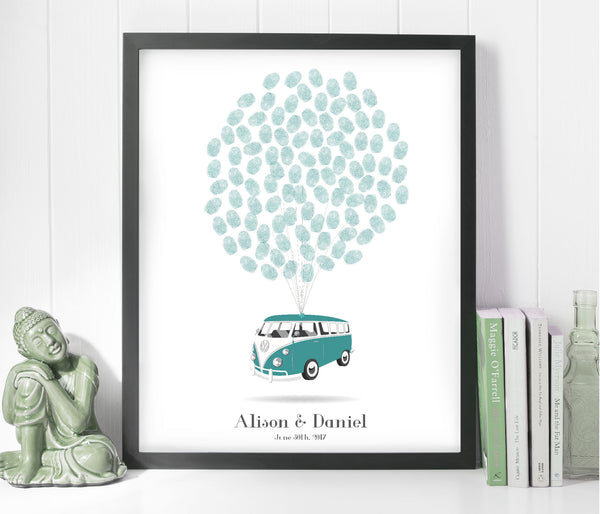 Campervan Printable Wedding Tree - Wedding Fusions