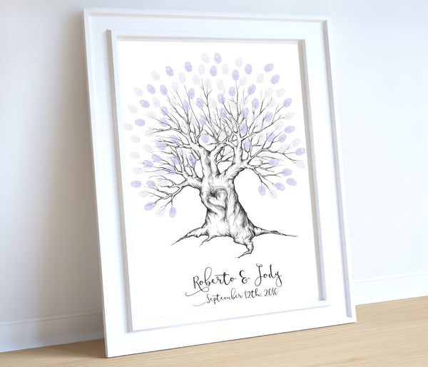 Wedding thumbprint tree - Wedding Fusions