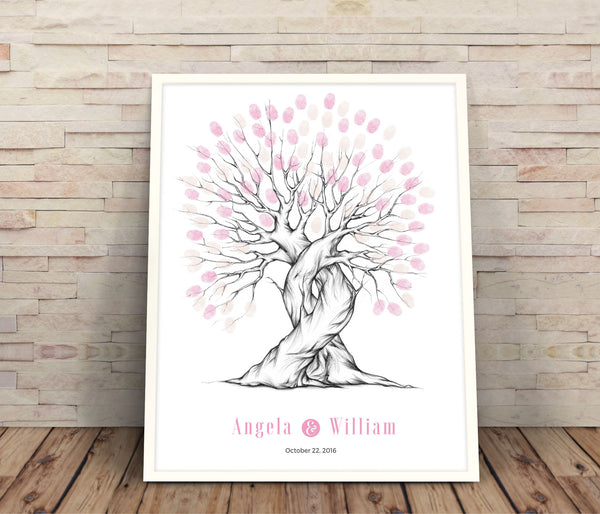 Fingerprint wedding guestbook - Wedding Fusions
