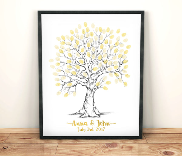 Wedding Guest Book Tree - Wedding Fusions