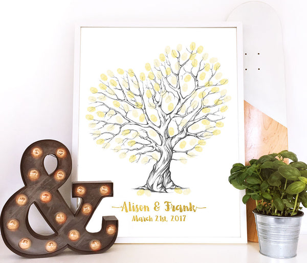Fingerprint Tree - Wedding Fusions