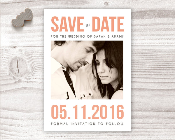 Save The Date - Save The Date - Wedding Fusions