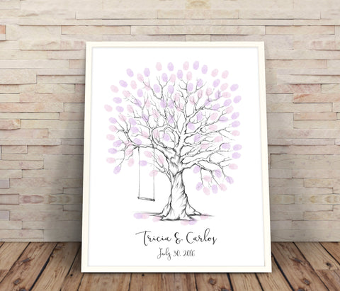 printable wedding tree