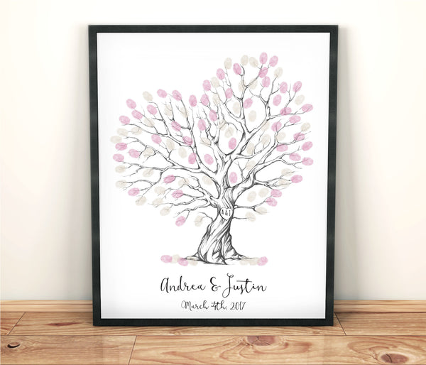 Fingerprint guestbook - Wedding Fusions