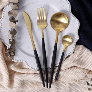 Black and Gold - Flatware  - esesrie