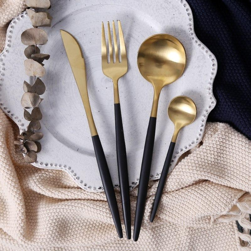 Pink and Gold - Flatware  - esesrie