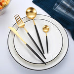 Black and Silver - Flatware  - esesrie