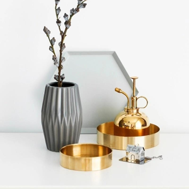 Chic: Handmade Storage Trays, Gold and Rose Gold  - esesrie