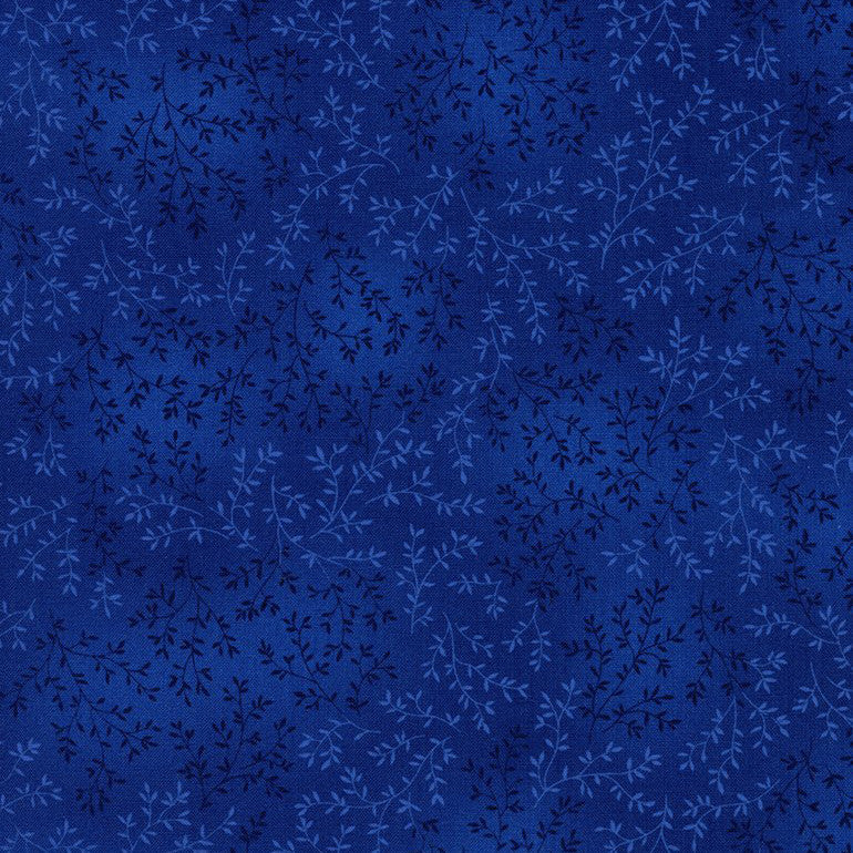 Willow Tonal Leaf Blue