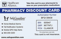 Free SafeGuardian Prescription Discount Program