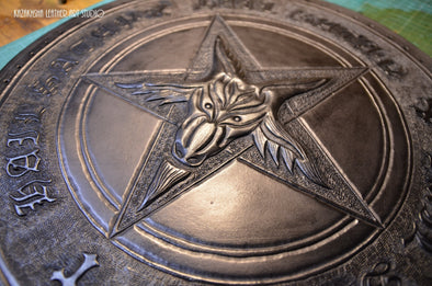 Custom made orders for leatherwork and leather projects | Kazakhsha Leather Art Studio