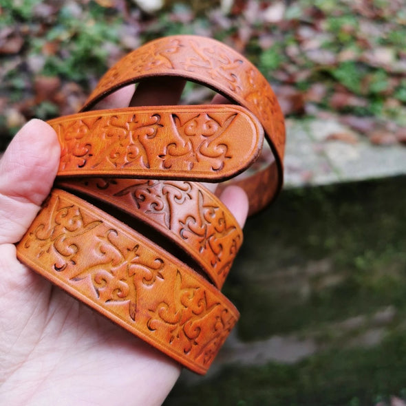 Traditional and non-traditional Leather Belts
