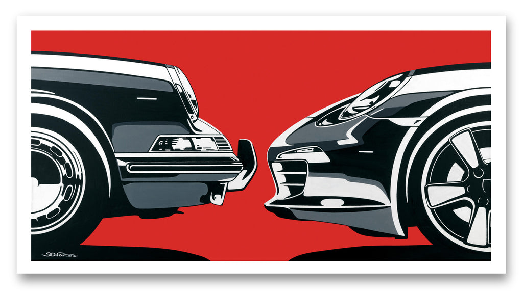 Face to Face. SDufour X Petersen Museum Collaboration.
