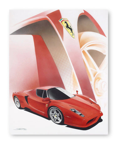 Enzo Limited print