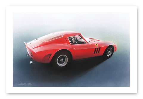 Ferrari 250 GTO Limited print (out of stock)