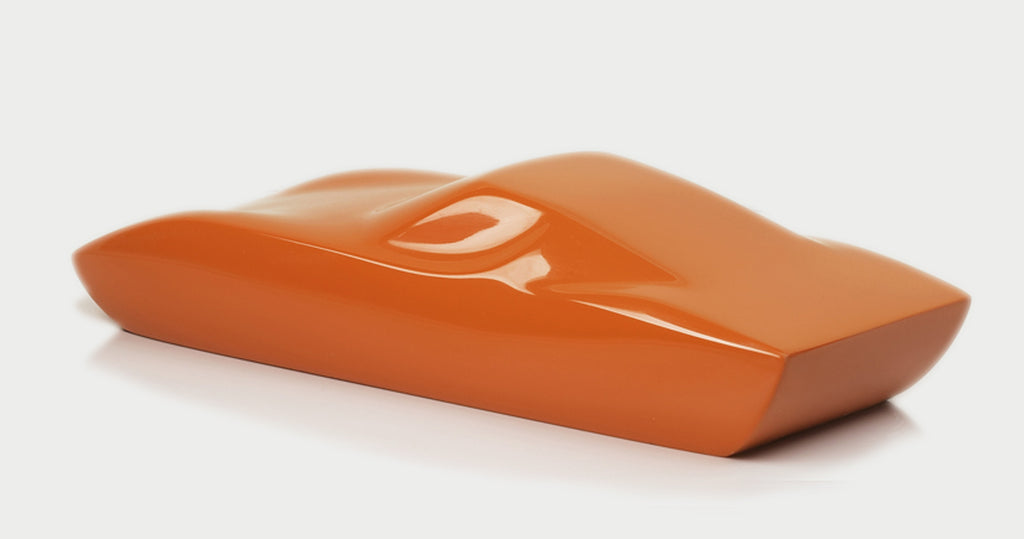 Orange Miura Sculpture