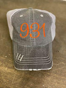 931 Embroidered Hat
