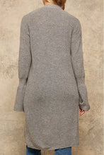 Load image into Gallery viewer, A Solid Ribbed Knit Cardigan