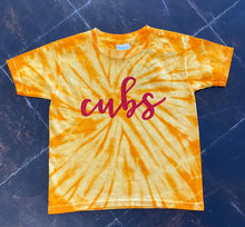 Load image into Gallery viewer, Cubs Tie Dye Tee