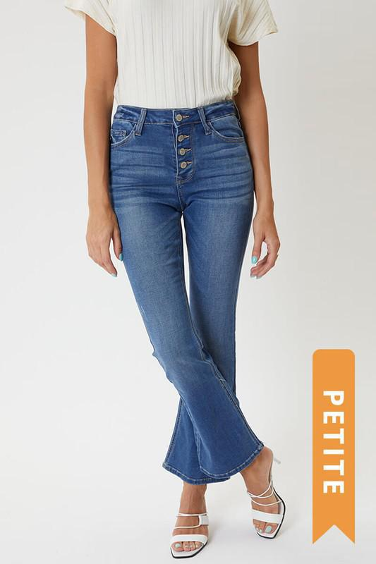 Kan Can PETITE Flare Jeans