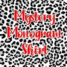 Load image into Gallery viewer, Mystery Monogram Shirt