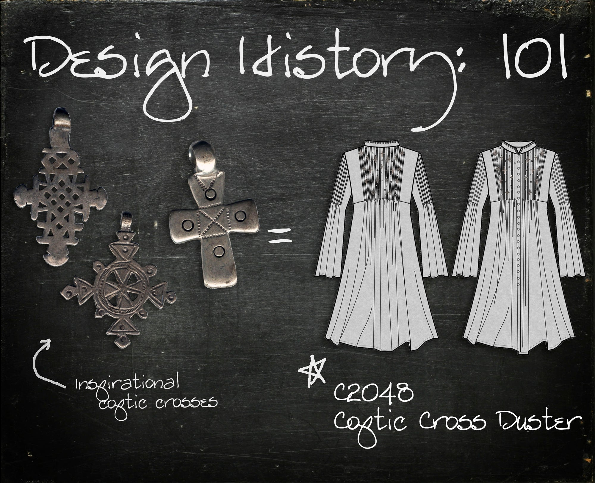 Design History 101: Coptic Cross Duster