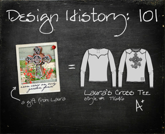 Design History 101: Laura's Cross