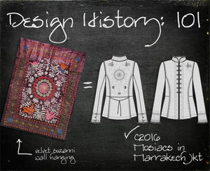 Design History 101: Mosiacs in Marrakech Jacket