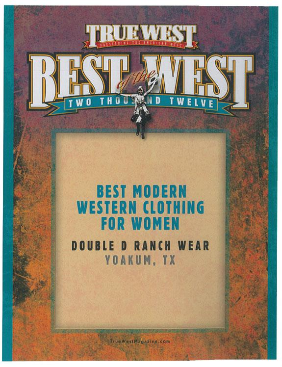 We're Honored! Thanks True West Magazine!