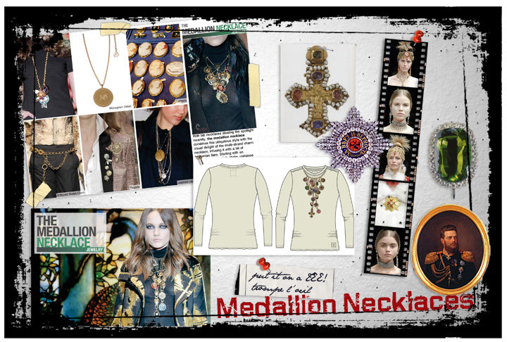 Editors are Forecasting: Medallion Necklaces