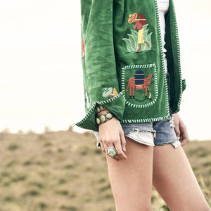 Go Green With The Down Mexico Way Jacket
