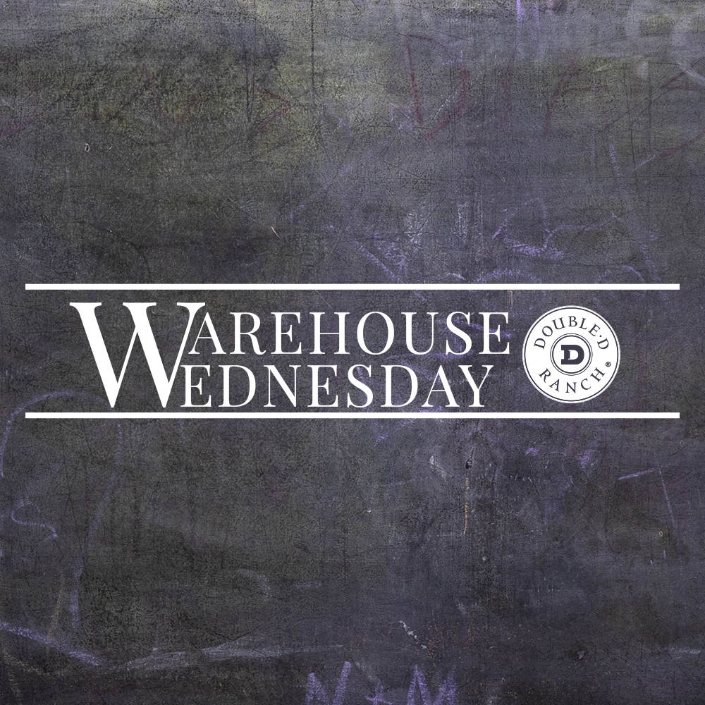 Warehouse Wednesday is coming back!