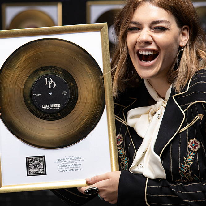Gold Records & Grammys