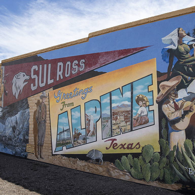 Art of Alpine: South Texas' Mecca of Murals