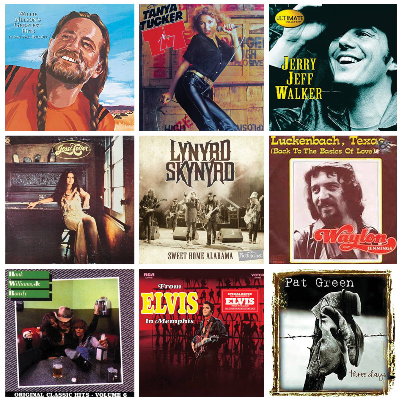 Willie's Picnic Playlist