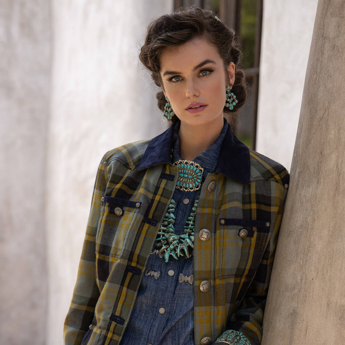 WHAT'S THE STORY: RODGERS PLAID