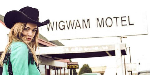 Winslow Jacket at Wigwam Motel