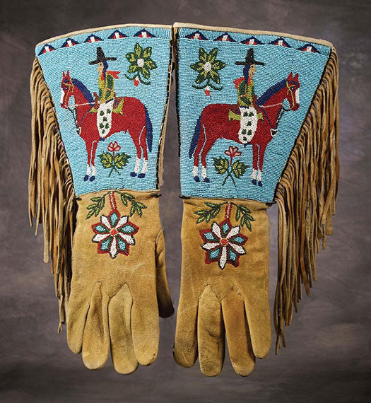 3Plateau-Pictorial-Beaded-&-Fringed-Gauntlets