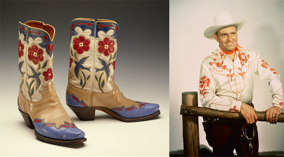 Gene Autry & His Bluebird Boots - Museum of the American West