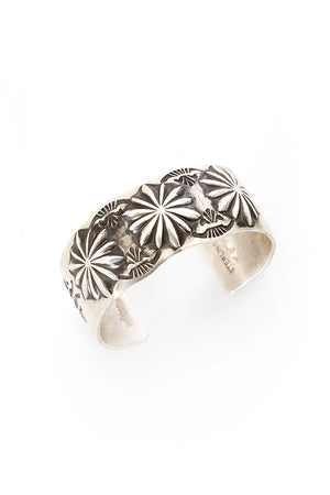 Cuff, Sterling, Desert Flower