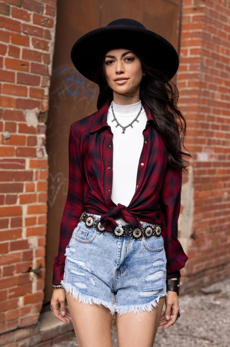 Smokey Mountain Breakdown Blouse