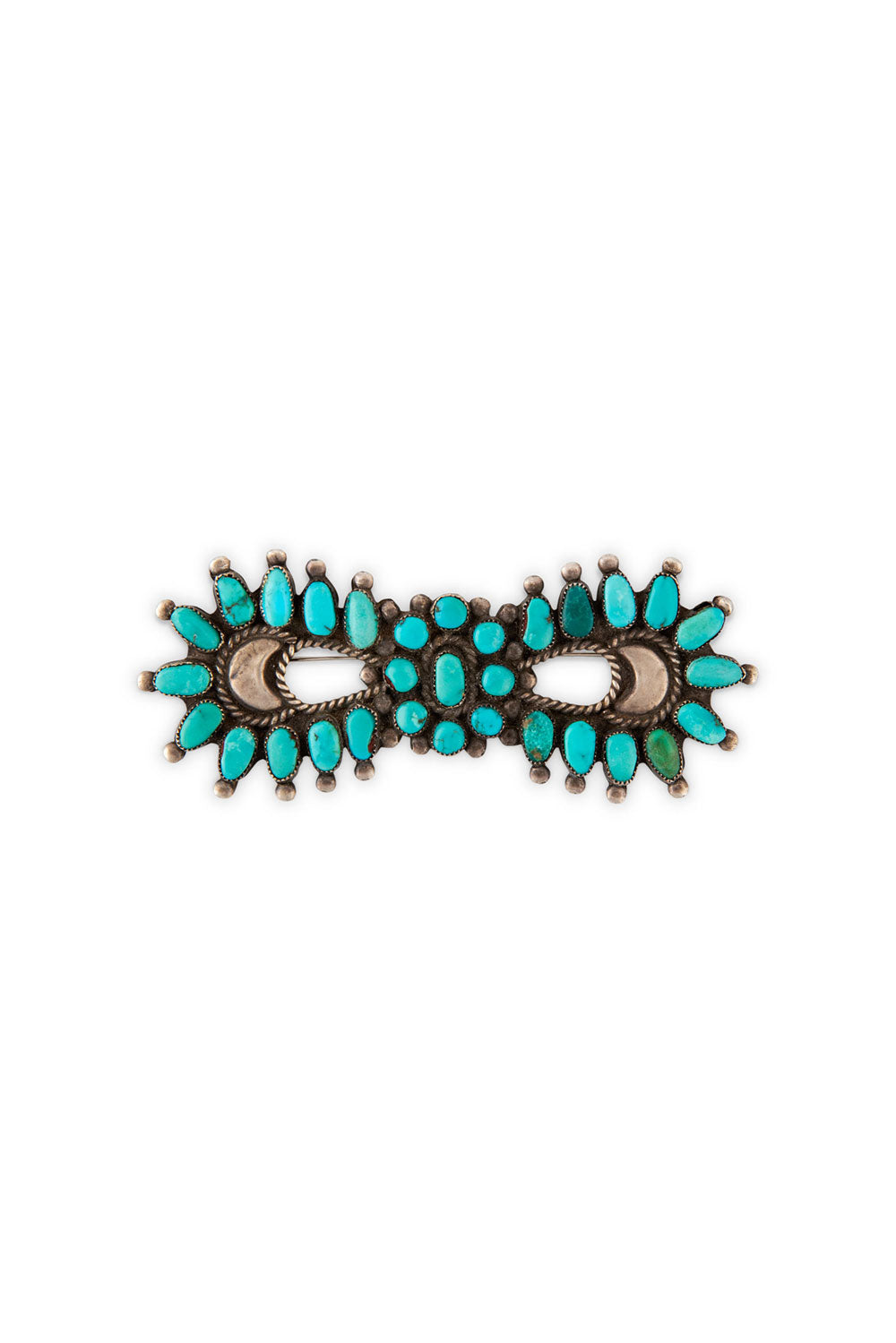 Pin, Cluster, Turquoise, Bowtie, Old Pawn, 254