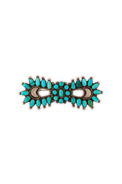 Pin, Turquoise, Cluster, Bowtie, Old Pawn