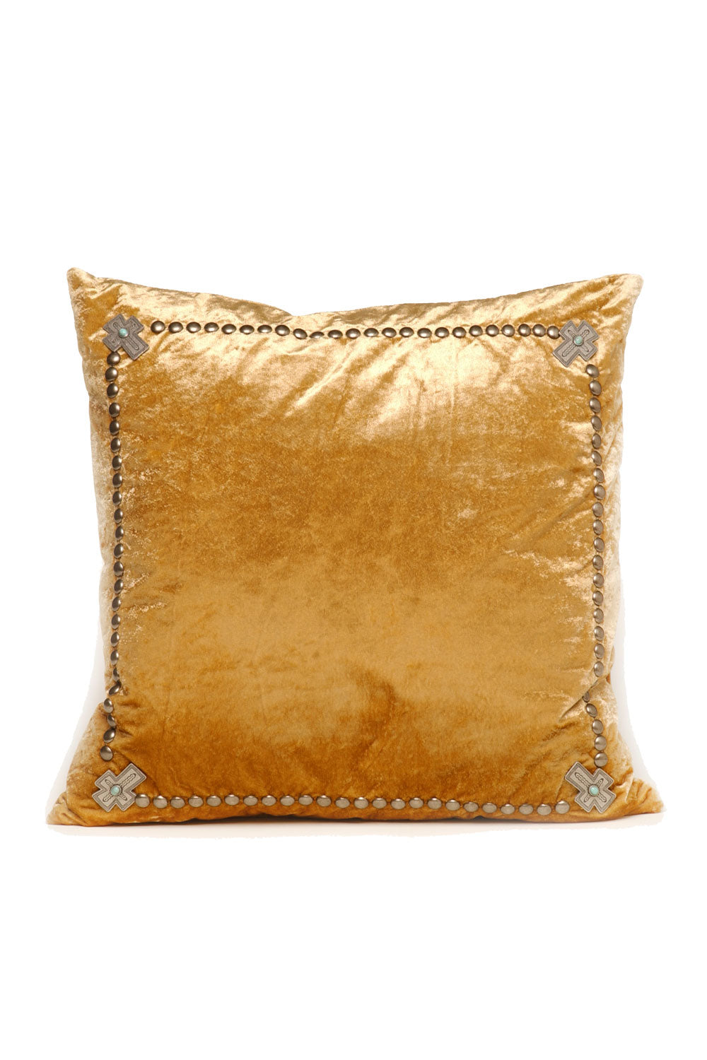 Crosses in the Corner Pillow