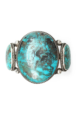 Cuff, Vintage, Turquoise, Pilot Mountain, 1970's