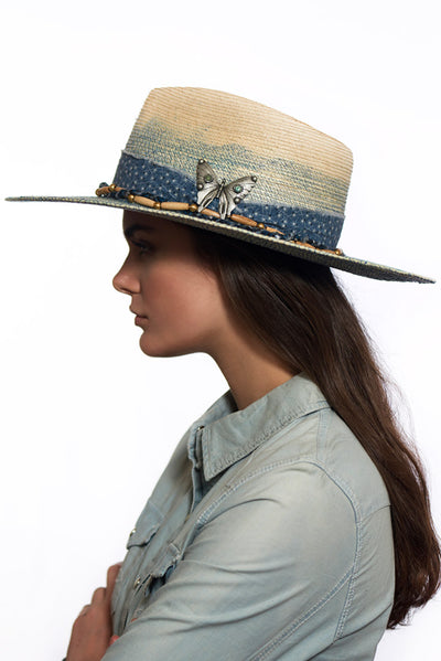 Sample - Butterfly Bleu Hat